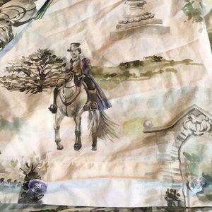 CUDDLEDOWN English print, 100% cotton duvet cover